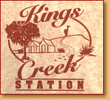 Kings Creek Station - Hotel Accommodation