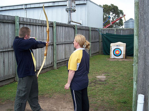 Bairnsdale Archery Mini Golf  Games Park - Hotel Accommodation