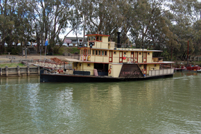 Emmylou Paddle Steamer - Hotel Accommodation