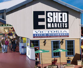 The E Shed Markets - Hotel Accommodation