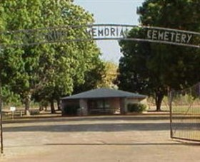 Katherine Cemetery - Hotel Accommodation
