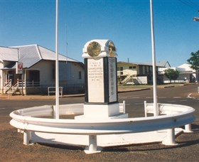 Cloncurry War Memorial - Hotel Accommodation