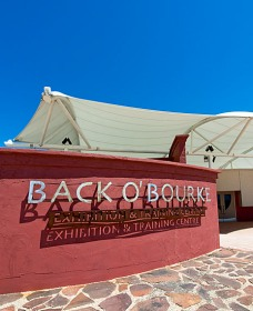 Back O Bourke Exhibition Centre - Hotel Accommodation