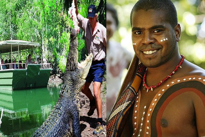 Hartley's Crocodile Adventures and Tjapukai Cultural Park Day Trip from Cairns - Hotel Accommodation