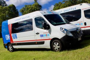 Brisbane Airport Departure shuttle Transfer from Sunshine Coast Hotels/addresses - Hotel Accommodation