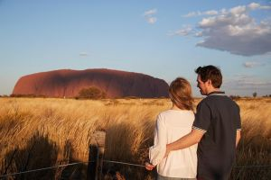 Uluru Ayers Rock Sunset with Outback Barbecue Dinner and Star Tour - Hotel Accommodation