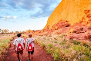 Uluru Sunrise and Guided Base Walk - Hotel Accommodation