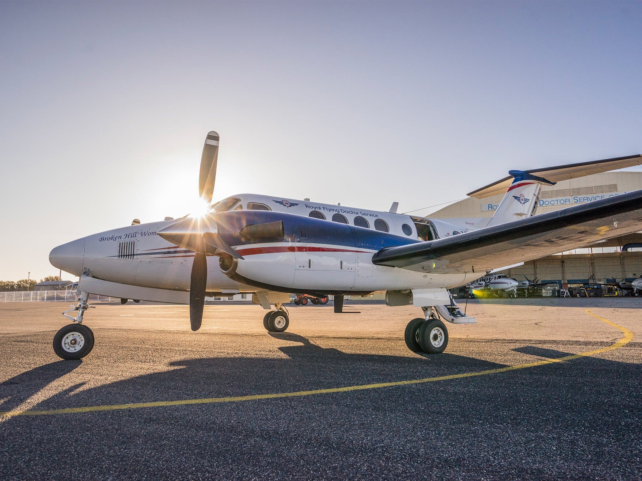 The Royal Flying Doctor Service Outback Experience in Broken Hill - Hotel Accommodation