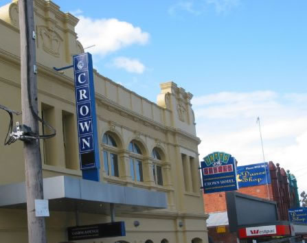 Crown Hotel Lilydale - Hotel Accommodation