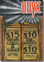 Onyx Restaurant Tapas  Cocktail Bar - Hotel Accommodation