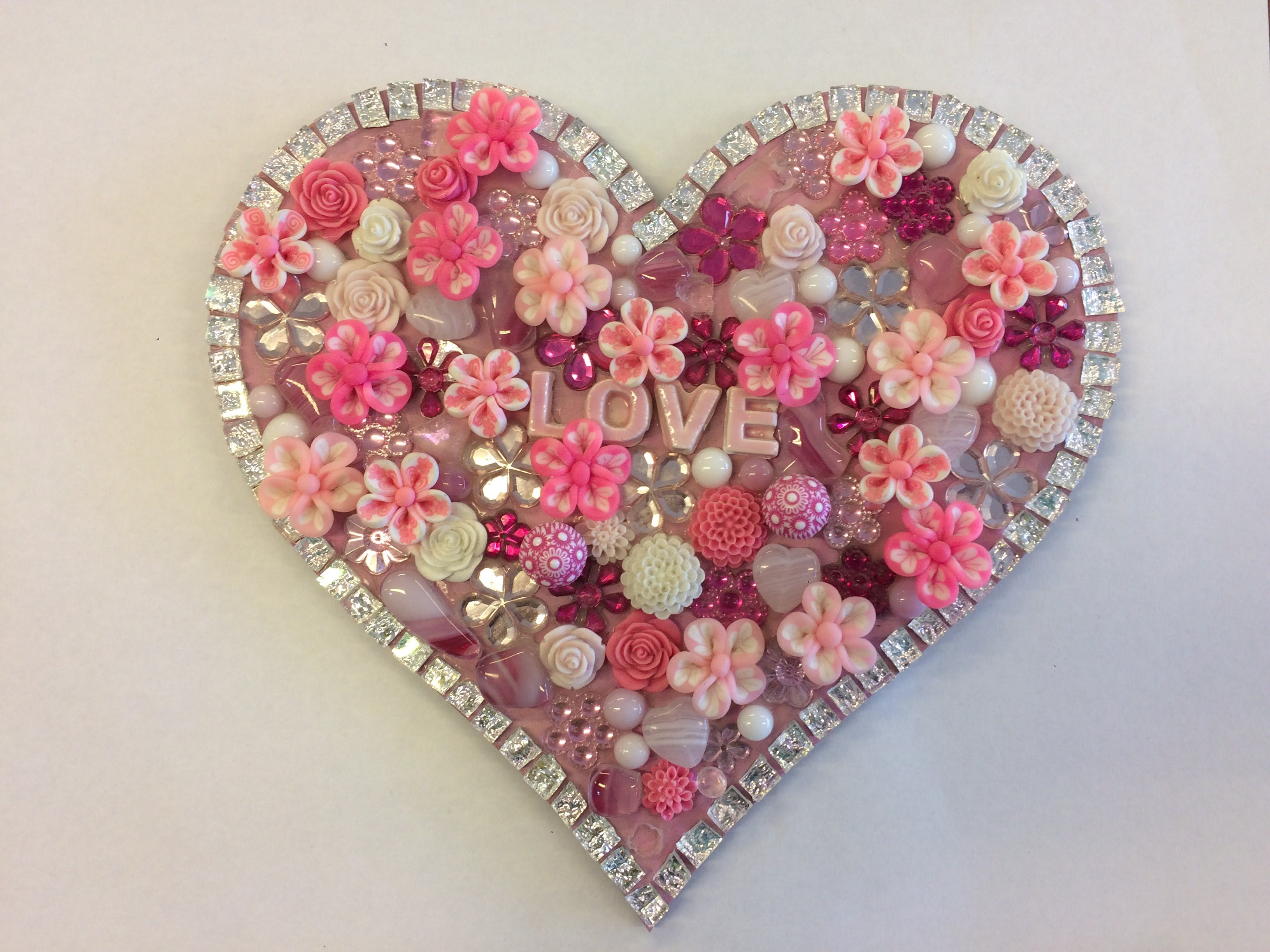 Flowers and Bling Mosaic Class for Kids - Hotel Accommodation