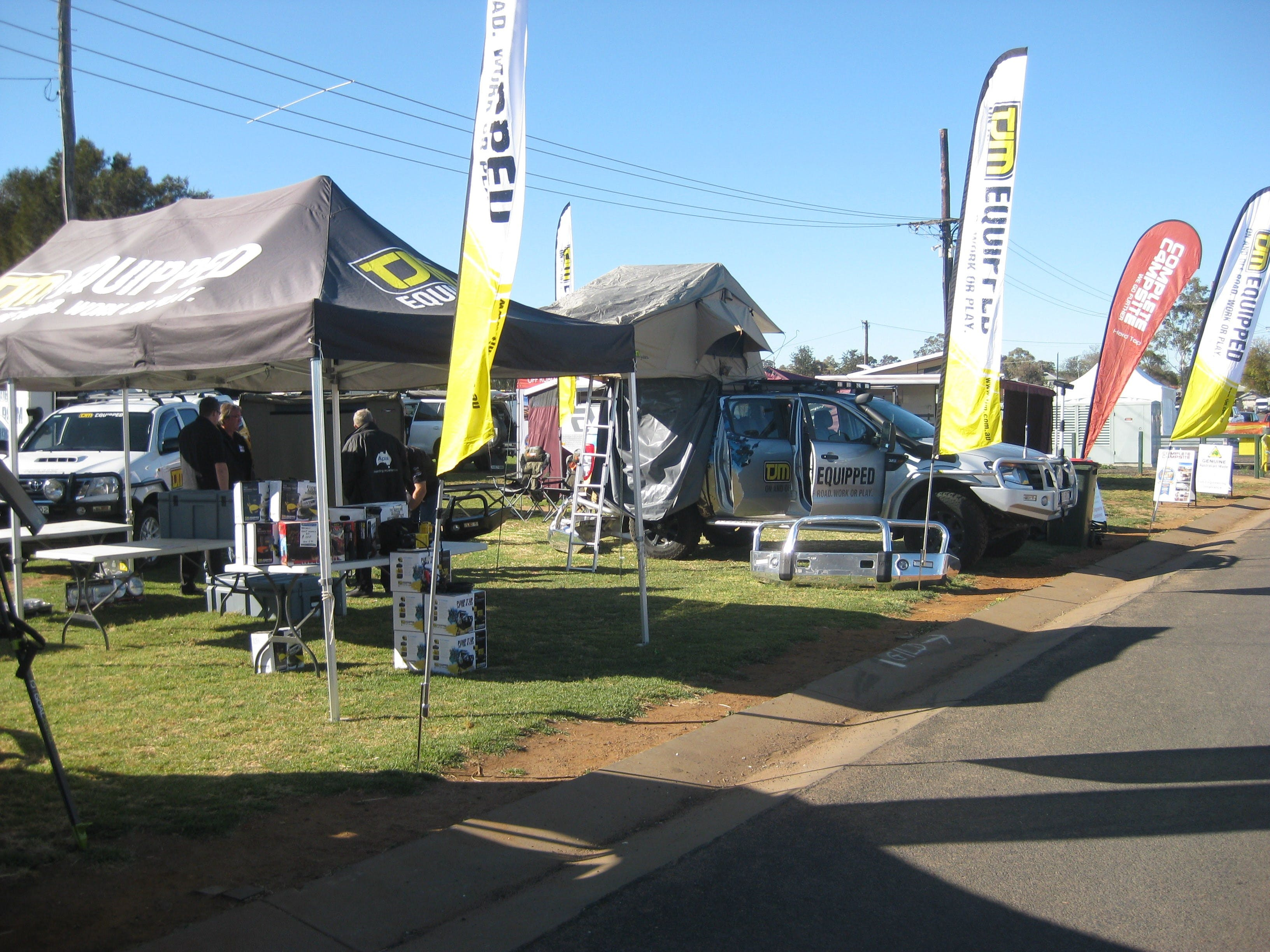 Orana Caravan Camping 4WD Fish and Boat Show - Hotel Accommodation