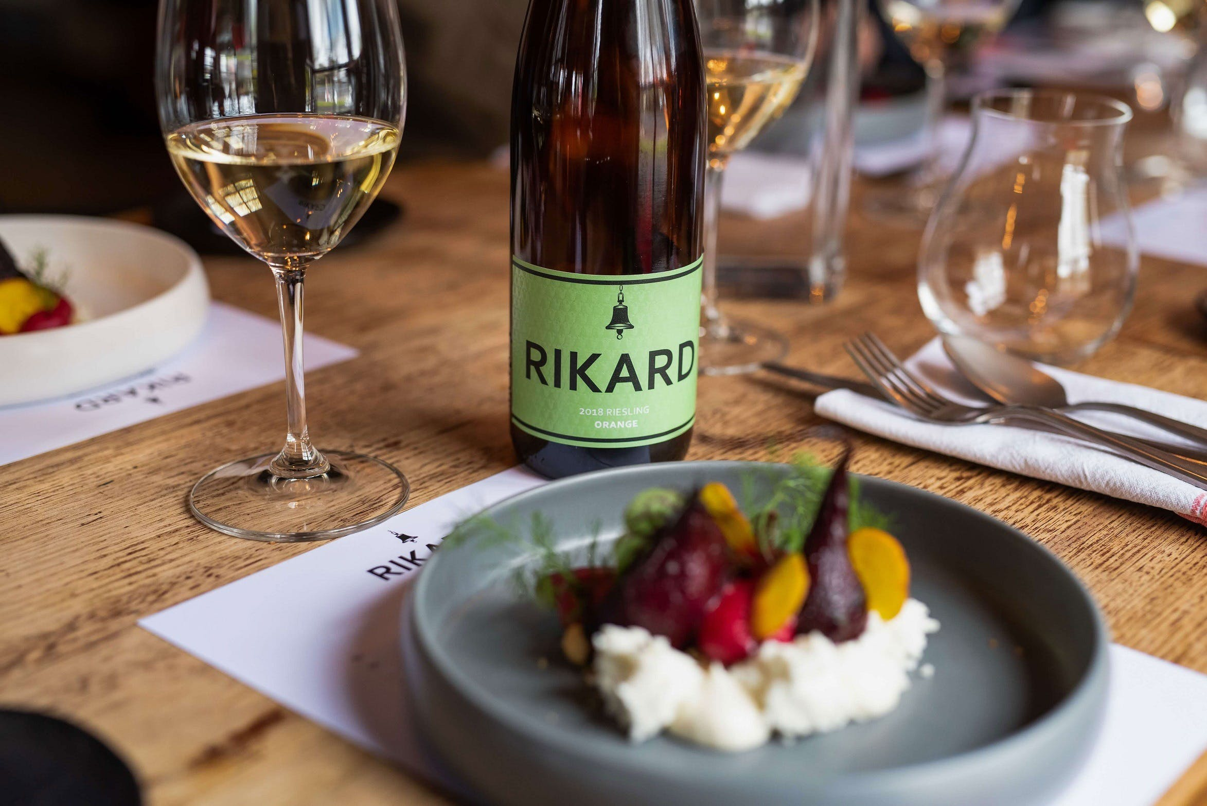 RIKARD Wines at Charred - Hotel Accommodation