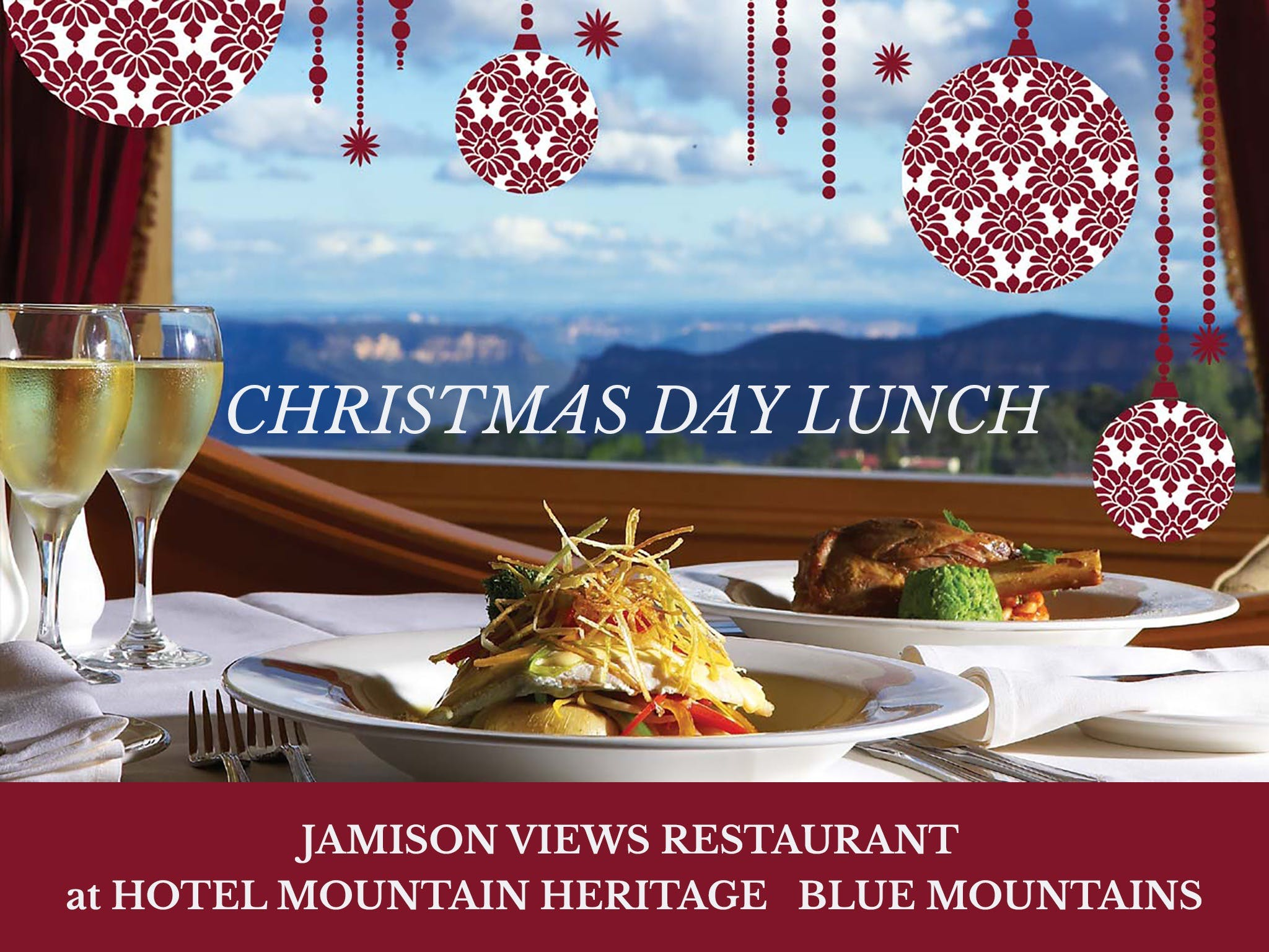 Christmas Day Lunch Hotel Mountain Heritage - Hotel Accommodation