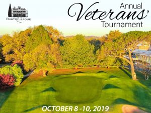 Duntryleague Annual Veterans Tournament - Hotel Accommodation