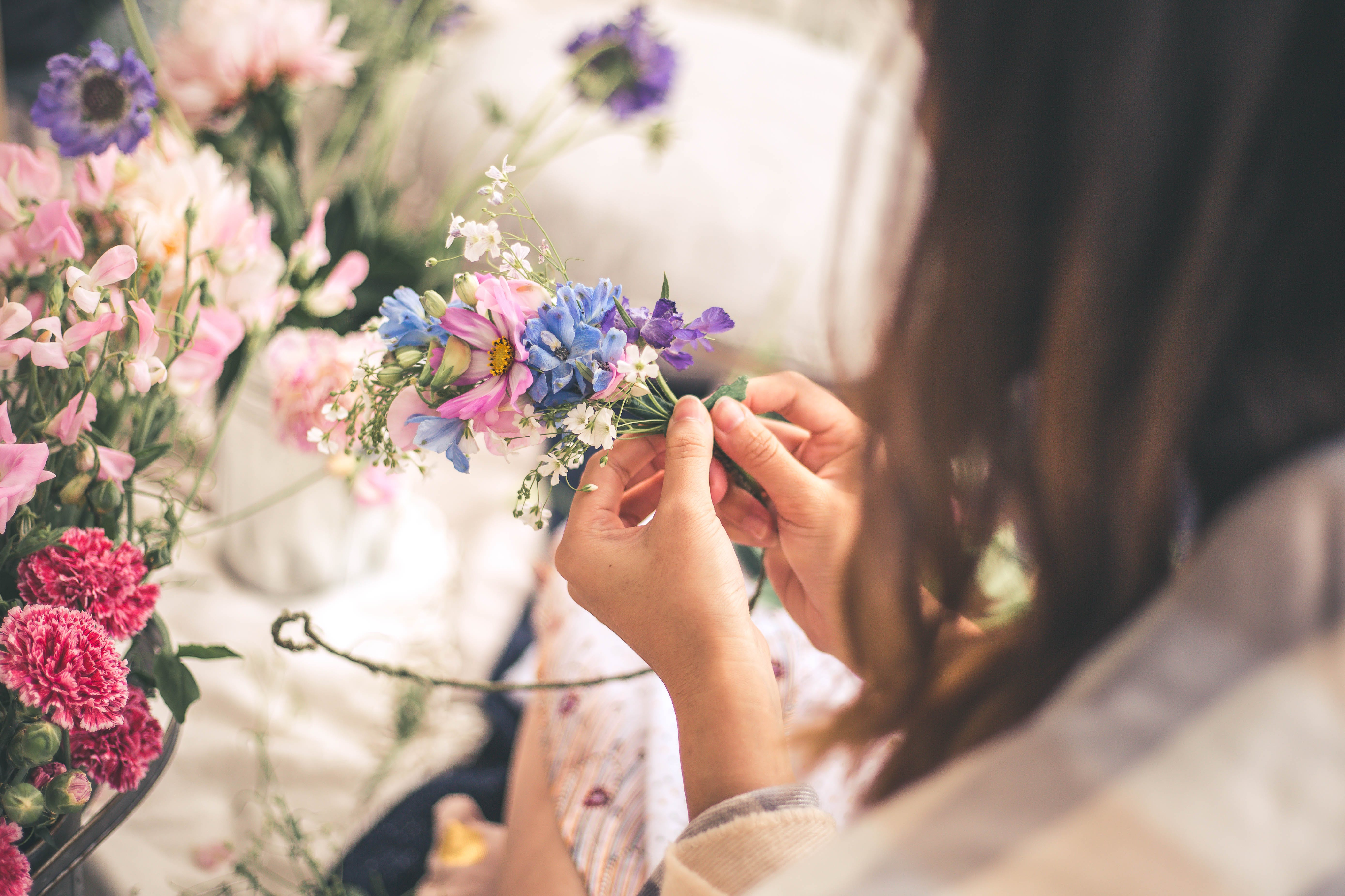 Summer Flower Crown Workshop - Hotel Accommodation