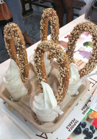 Ice Cloud - Churros  Bubble Tea - Hotel Accommodation