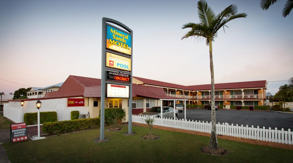 Mineral Sands Motel - Hotel Accommodation